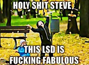 lsd drug meme